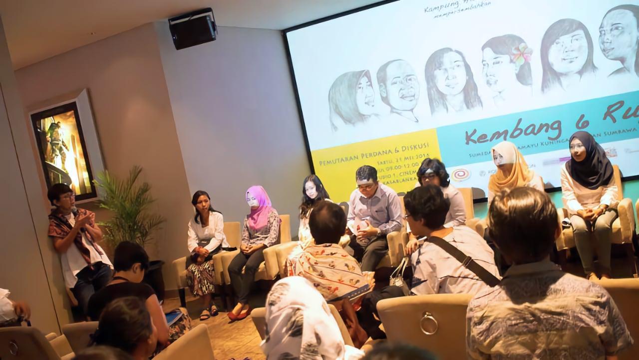 Pemutaran Perdana dan Diskusi Kembang 6 Rupa di Jakarta
